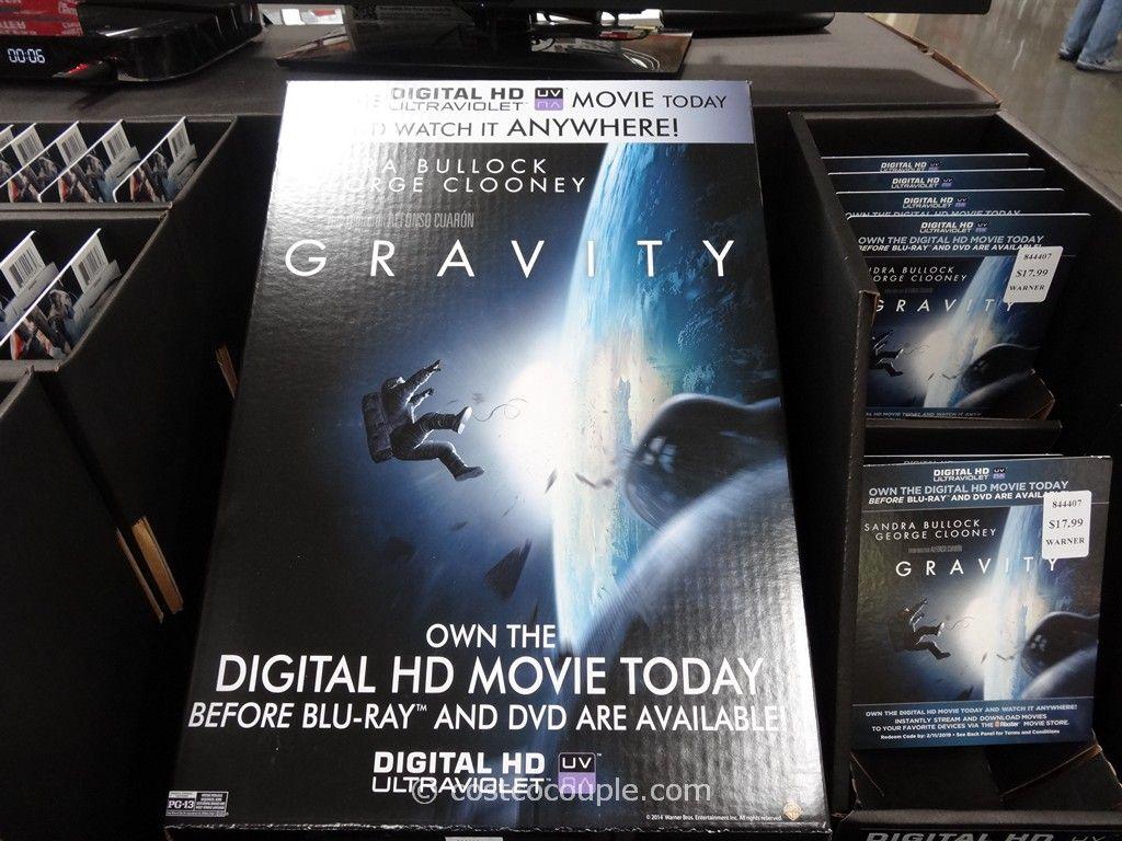 Gravity DVD Costco 1