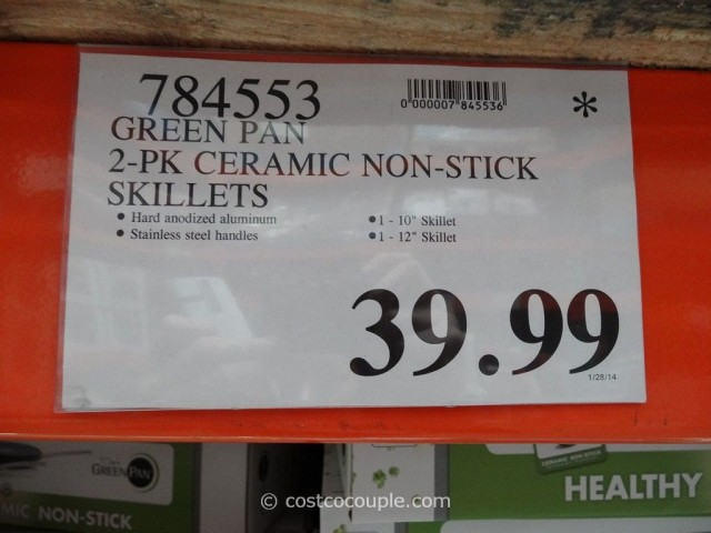 Green Pan Ceramic Non-Stick Skillets Costco 1