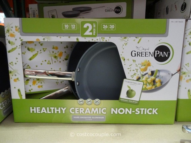 Green Pan Ceramic Non-Stick Skillets Costco 2