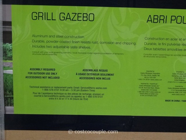 Grill Gazebo Costco 3
