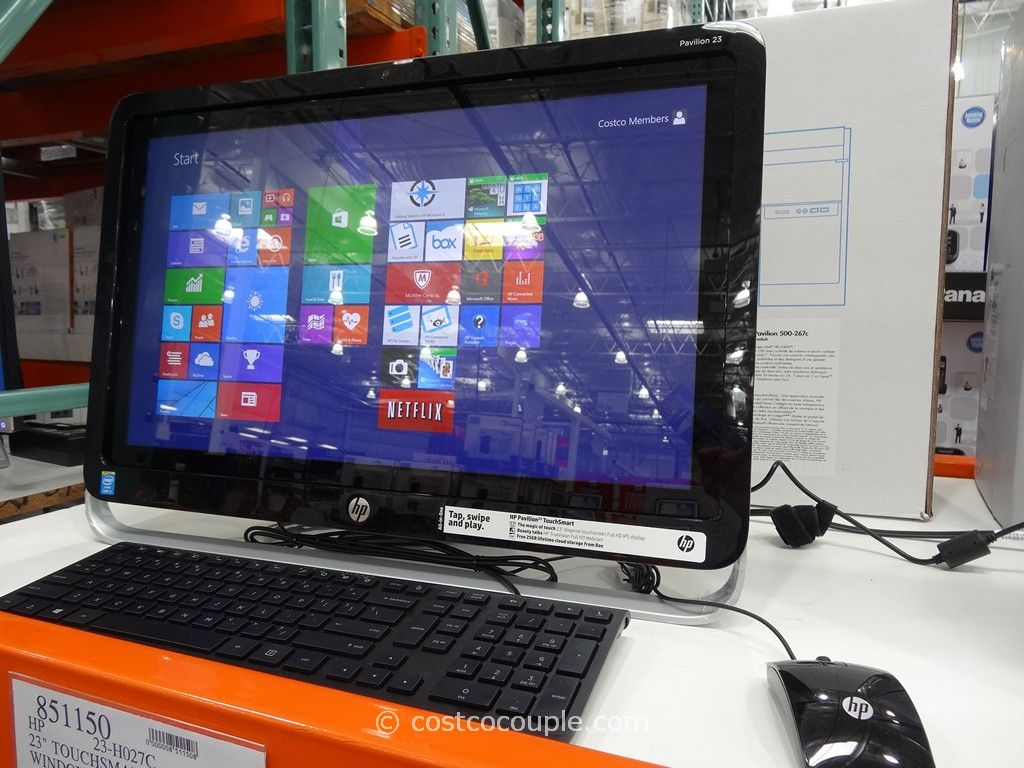 HP Pavilion All-In-One Touch PC 23-H027C Costco 1
