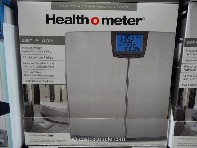 HealthOMeter Body Fat Scale Costco 3