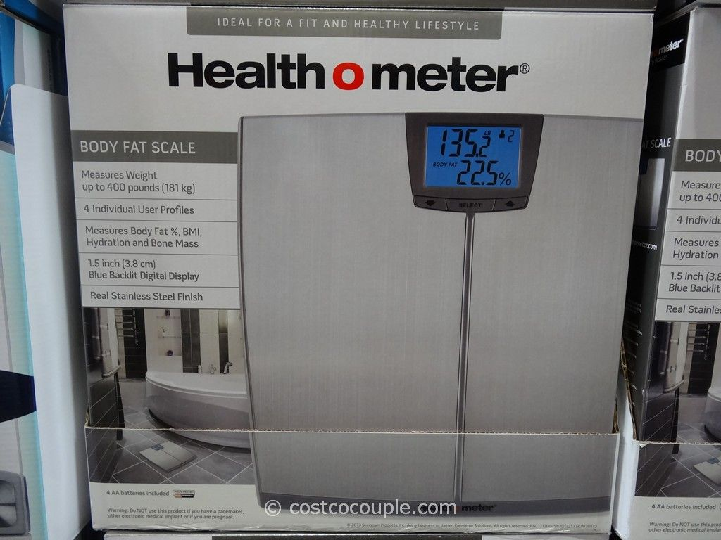 HealthOMeter Body Fat Scale Costco 3