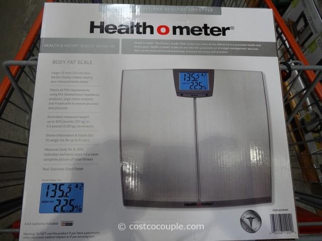HealthOMeter Body Fat Scale Costco 4