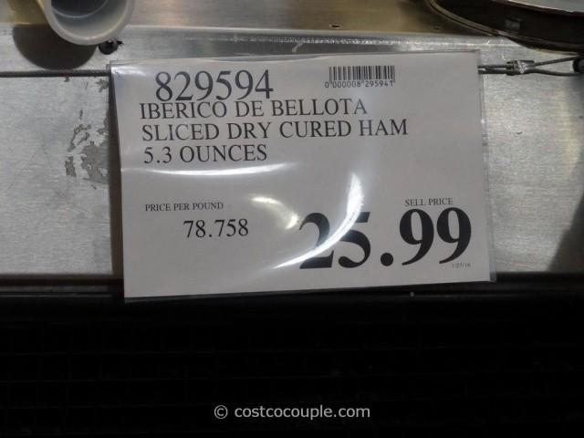 Iberico De Bellota Sliced Dry Cured Ham Costco 1