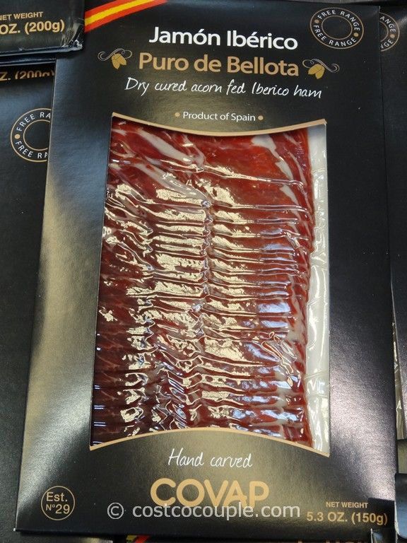 Iberico De Bellota Sliced Dry Cured Ham Costco 4