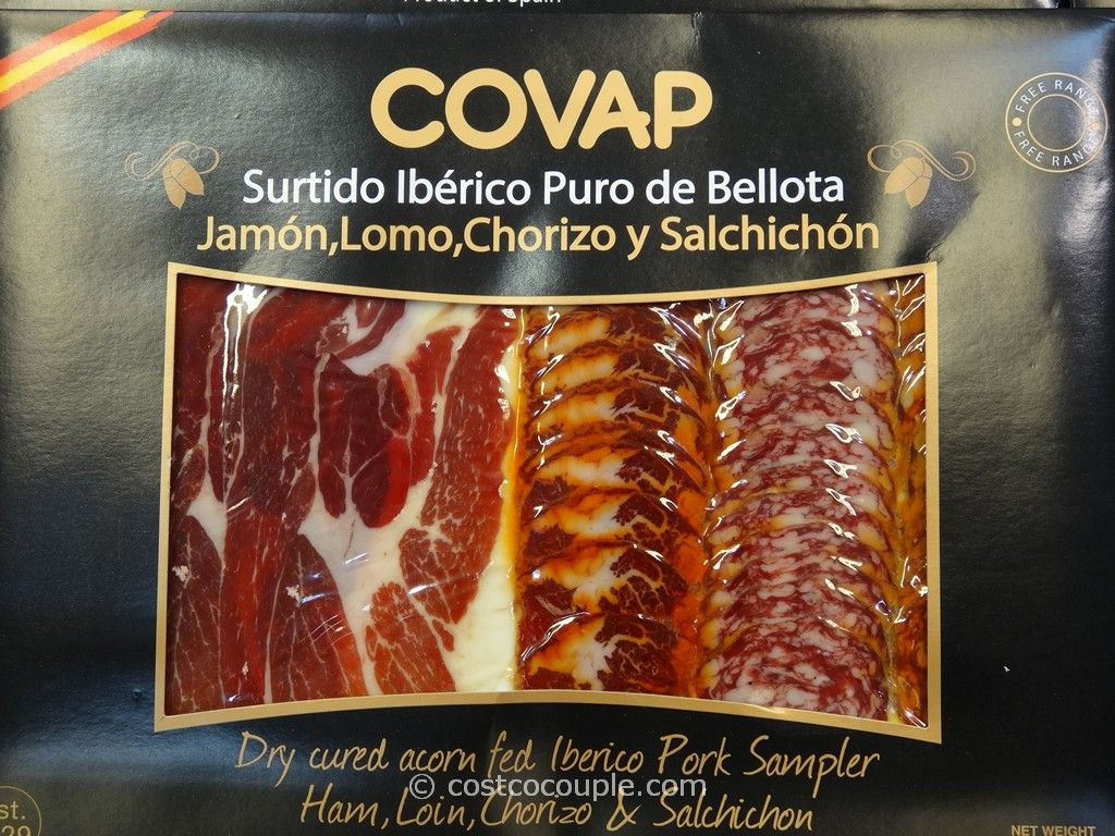 Iberico De Bellota Sliced Ham Sampler Costco 2