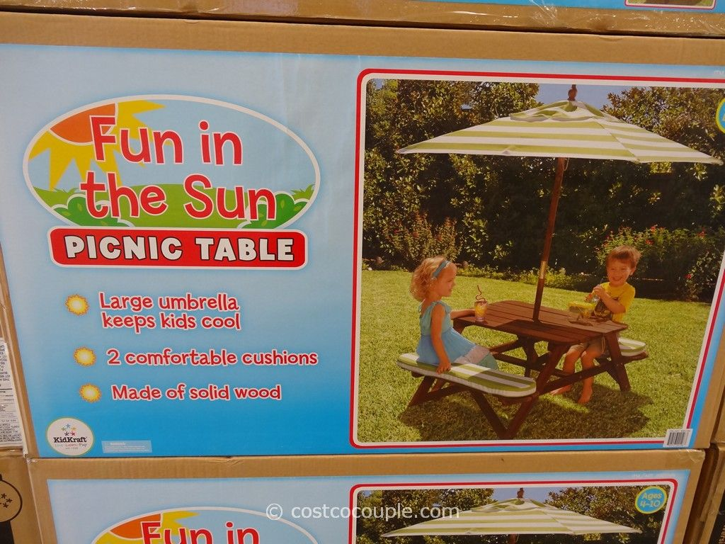 Kidkraft Outdoor Picnic Table