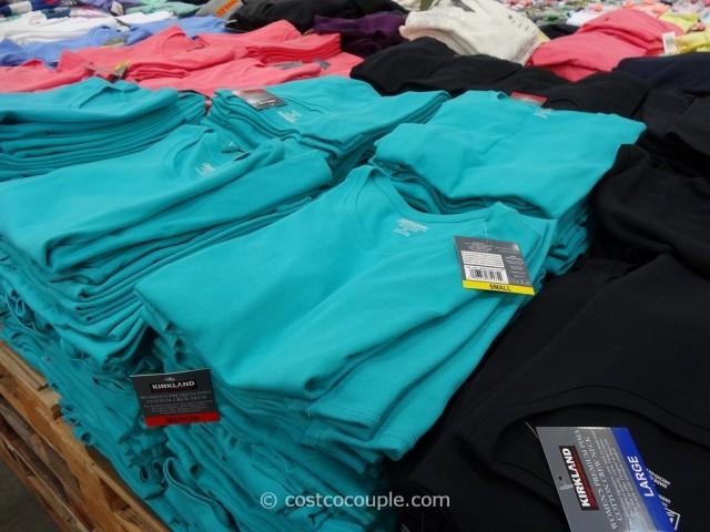 Kirkland Signature Ladies Cotton Crew Costco 3