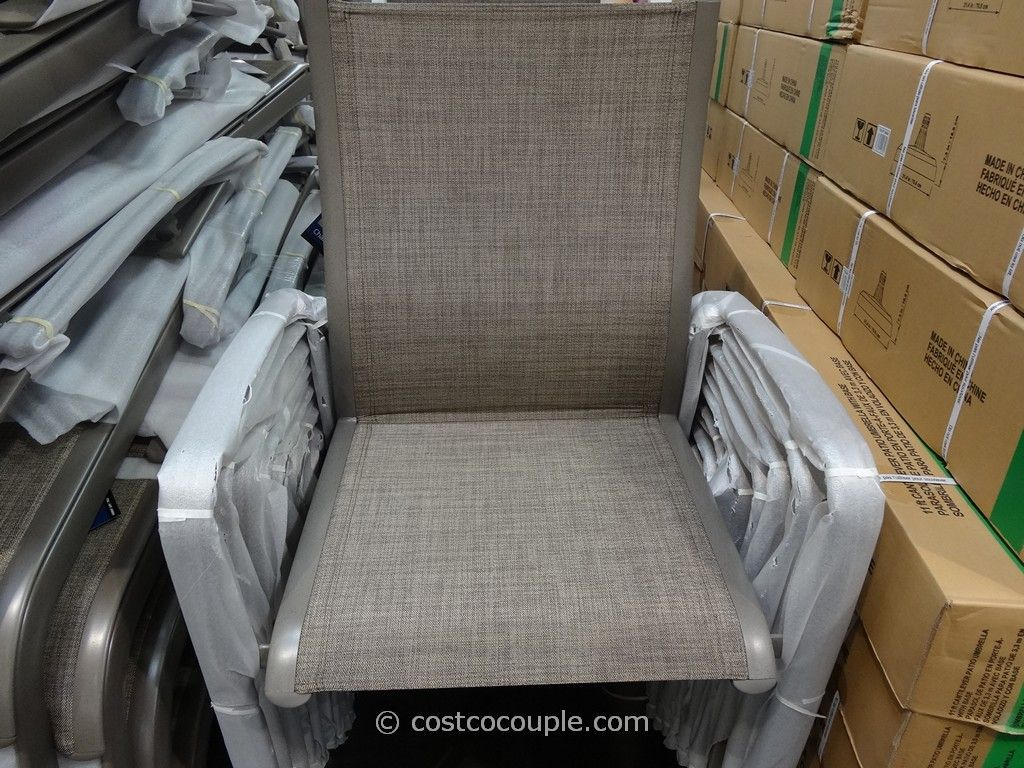 Kirkland Signature Commercial Sling Chair Costco 1