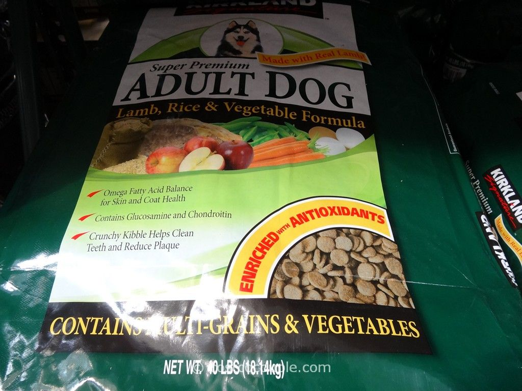 Kirkland Signature Super Premium Adult Dog Food Costco 2