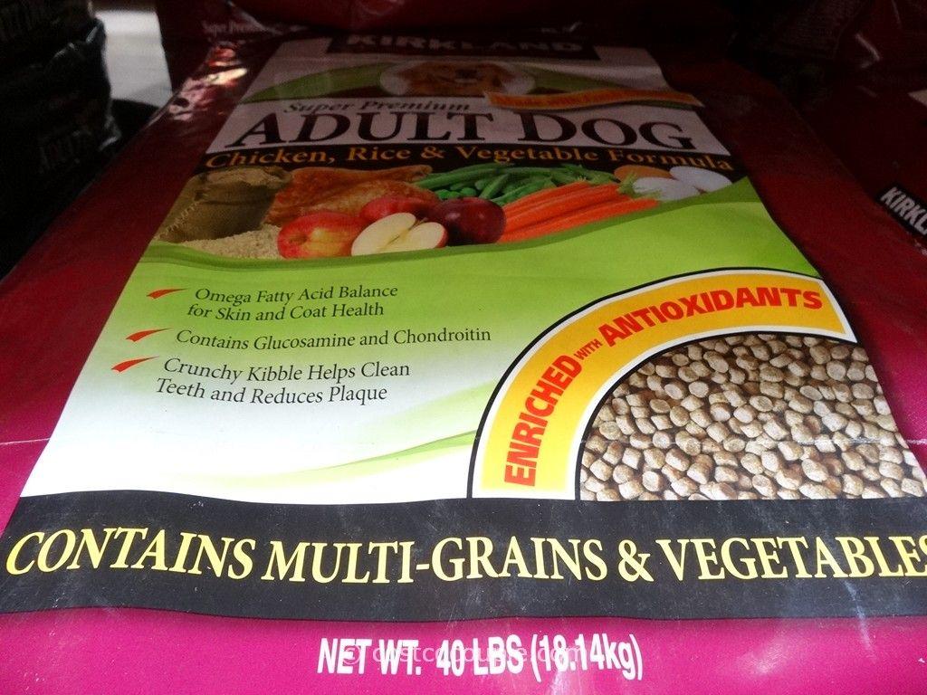 Kirkland signature super premium chicken adult dog food for Costco adult dog food
