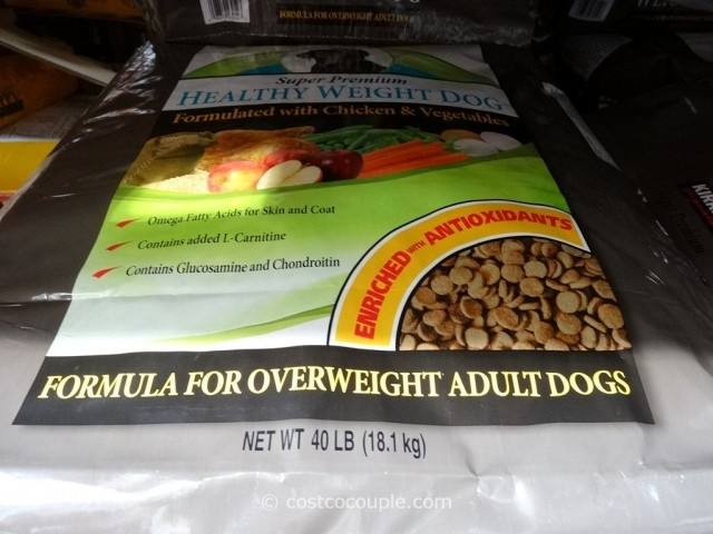 Kirkland Signature Super Premium Healthy Weight Dog Food Costco 2