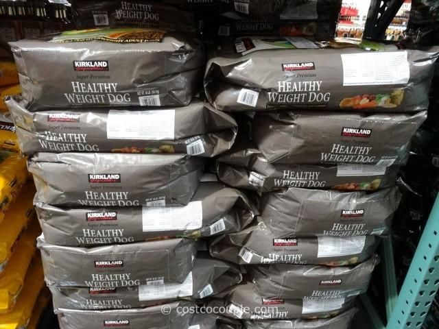 Kirkland Signature Super Premium Healthy Weight Dog Food Costco 4