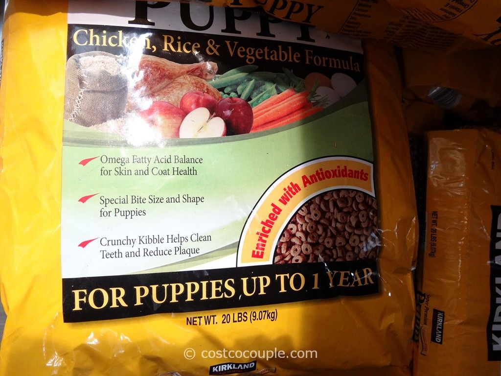Kirkland Signature Super Premium Puppy Food