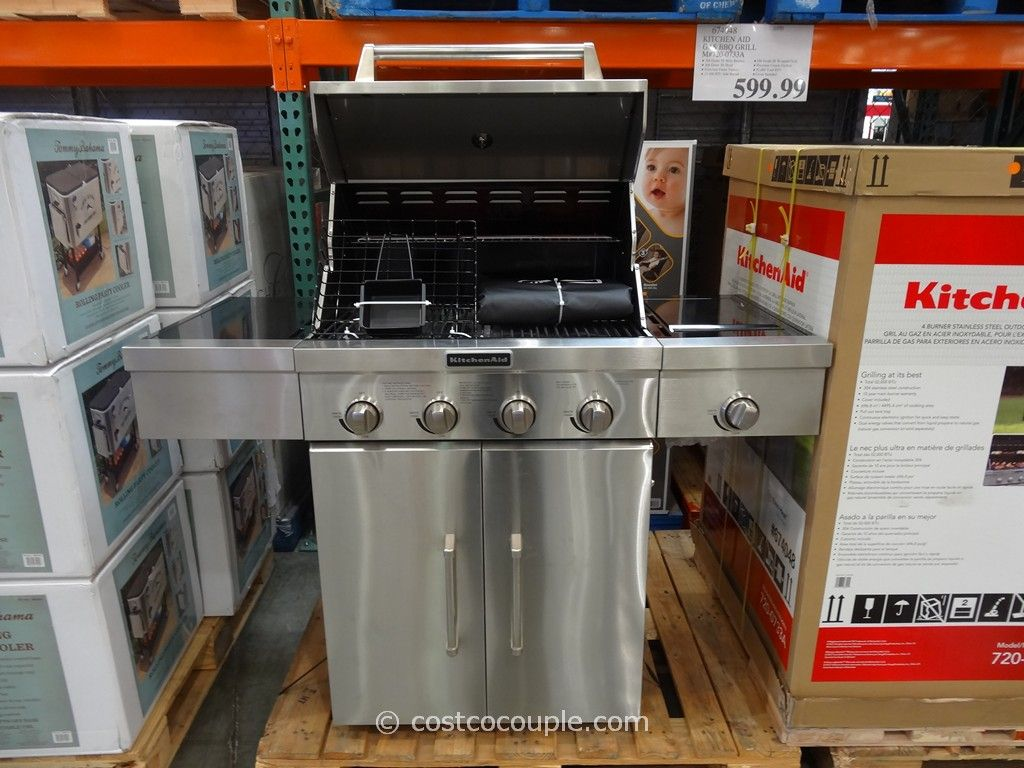 KitchenAid Gas BBQ Grill Costco 5