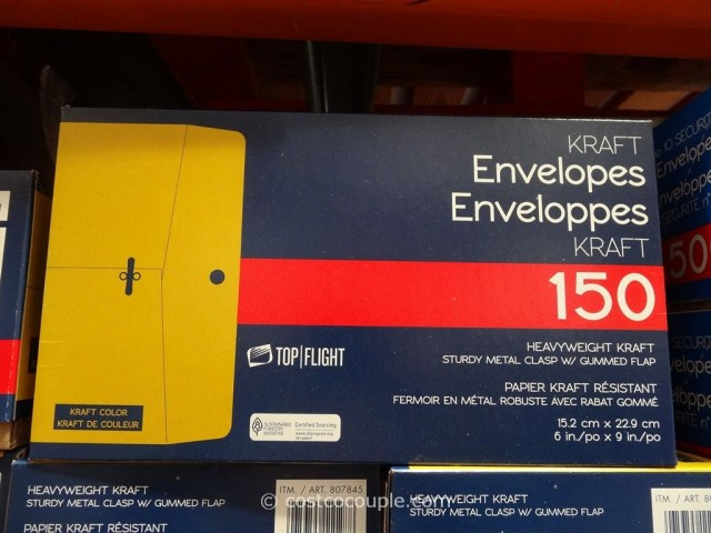 Kraft Envelopes 6x9 Costco 1