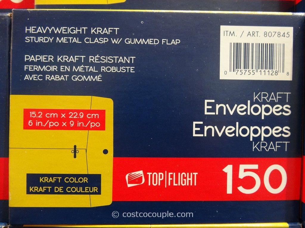 Kraft Envelopes 6x9 Costco 3