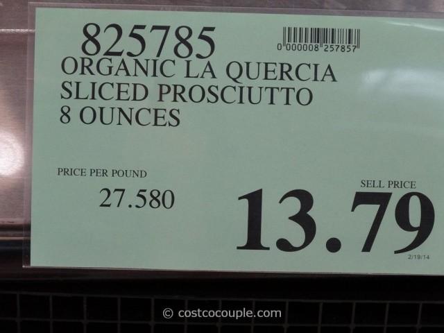 La Quercia Organic Prosciutto Costco 1