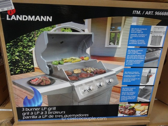 Landmann 3 Burner LP Gas Grill Costco 3