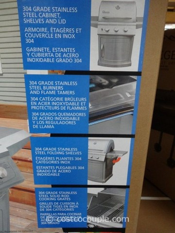 Landmann 3 Burner LP Gas Grill Costco 4