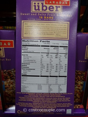 Larabar Uber Bars Costco 2