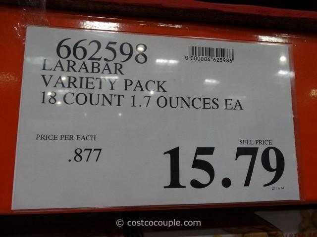 Larabar Variety Pack Costco 1