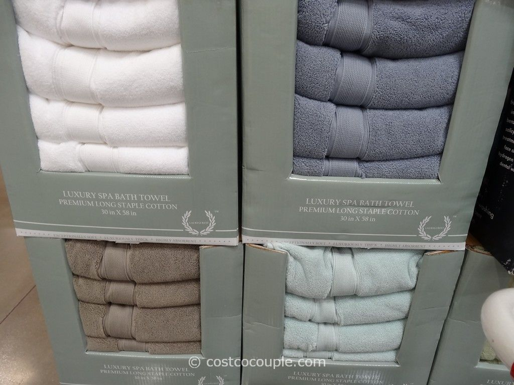 LaurelCrest Spa Bath Towel Costco 2
