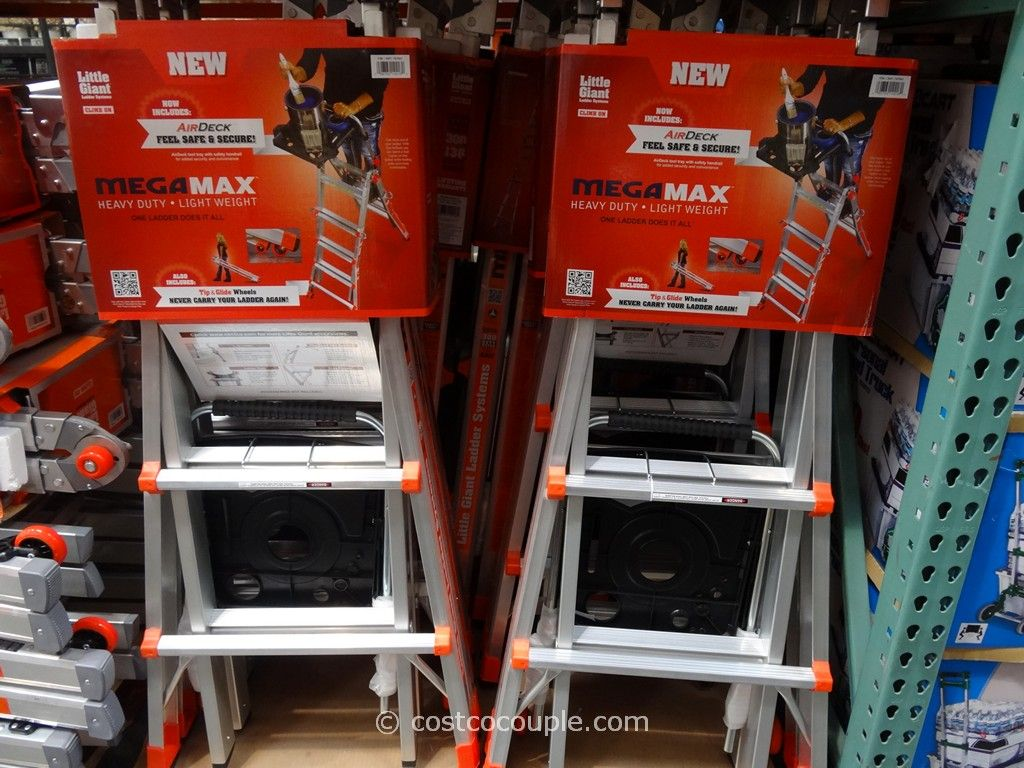 Little Giant Megamax M17 Type 1A Aluminum Ladder Costco 1