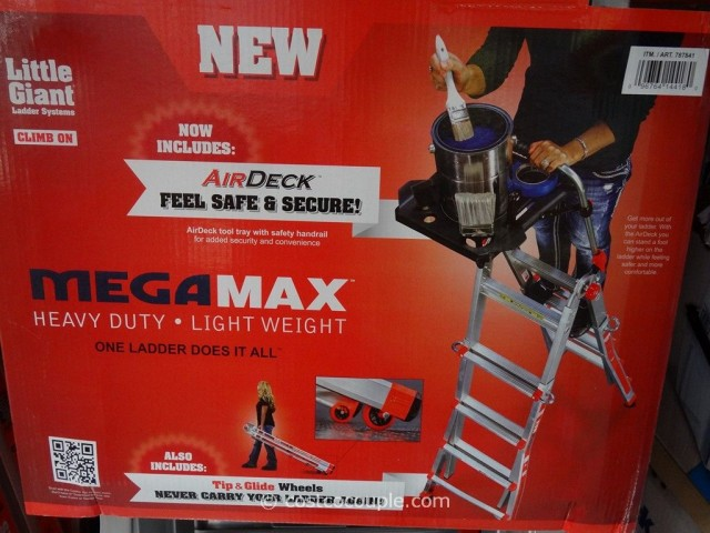 Little Giant Megamax M17 Type 1A Aluminum Ladder Costco 2