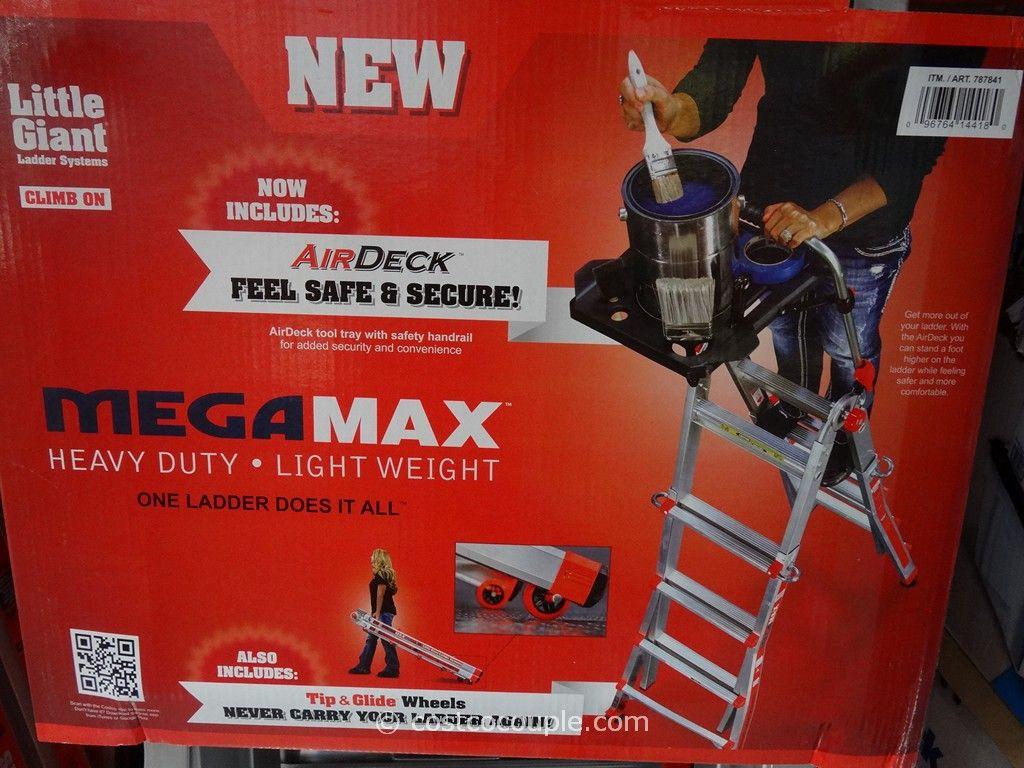 Little Giant Megamax M17 Type 1a Aluminum Ladder