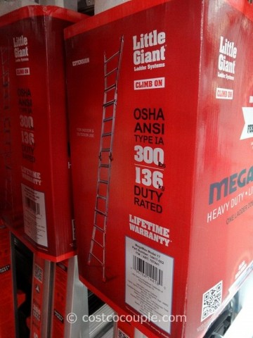Little Giant Megamax M17 Type 1A Aluminum Ladder Costco 4