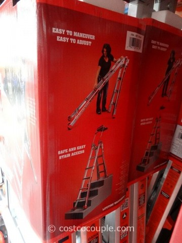 Little Giant Megamax M17 Type 1A Aluminum Ladder Costco 5