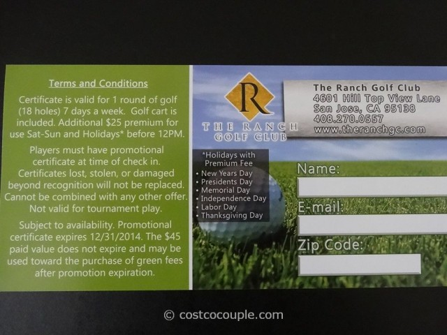 Live Discounts Golf Gift Card Costco 4