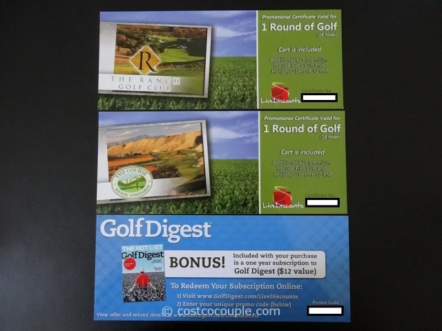 Live Discounts Golf Gift Card Costco