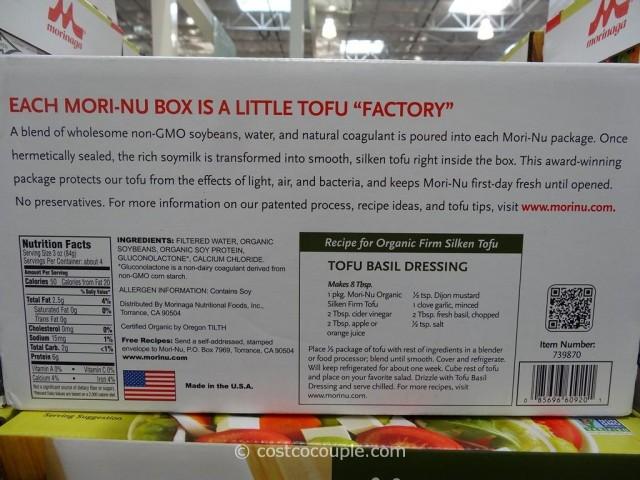 Morinaga Organic Firm Silken Tofu Costco 3