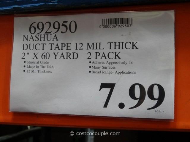 Nashua Industrial Grade Duct Tape Costco 1