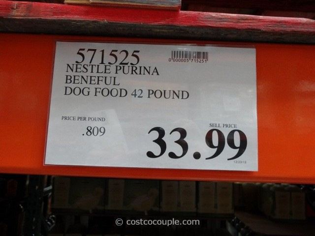 Nestle Purina Beneful Dog Food Costco 1