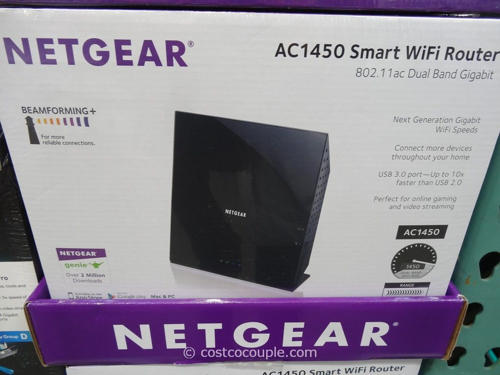 Netgear AC 1450 Smart Wifi Router Costco 2