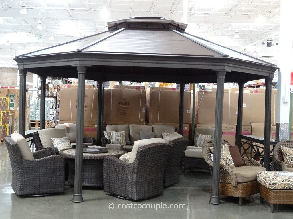 Octagonal Gazebo Costco 6