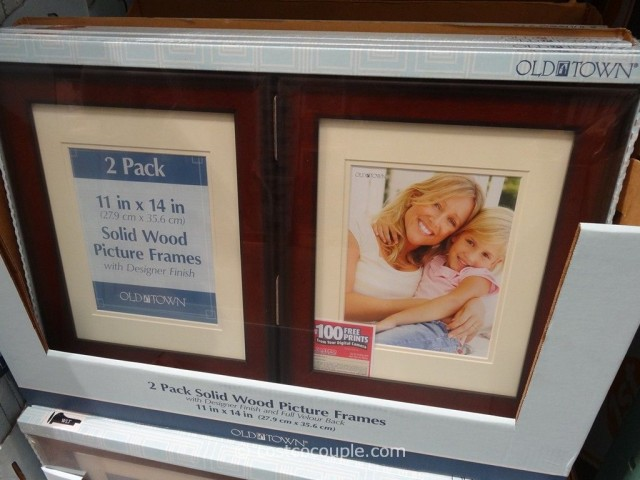 Old Town 11 x 14 Designer Wood Frames Costco 2