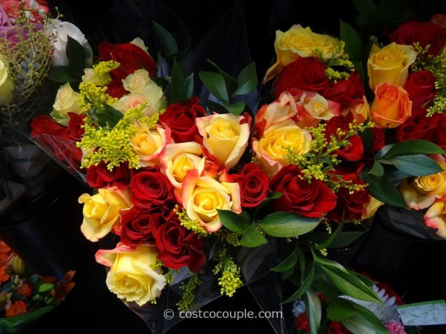 One Dozen Roses Valentine Bouquet Costco 2