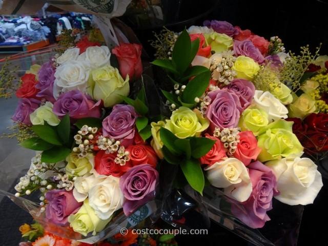 One Dozen Roses Valentine Bouquet Costco 4