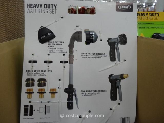Orbit Heavy Duty Watering Set Costco 4