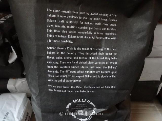 Organic Artisan Bakers Craft Flour Costco 3