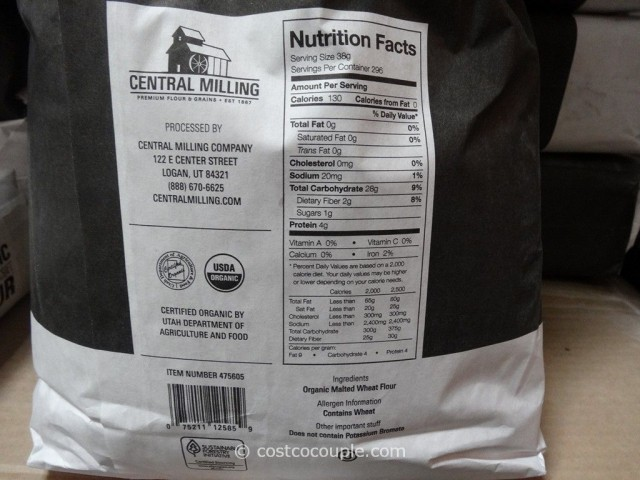 central milling organic artisan bakers craft flour