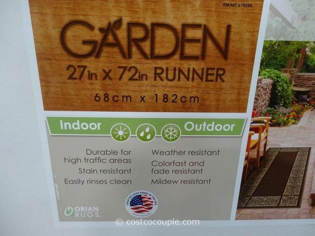 Orian Rugs Garden Collection Runner Costco 3