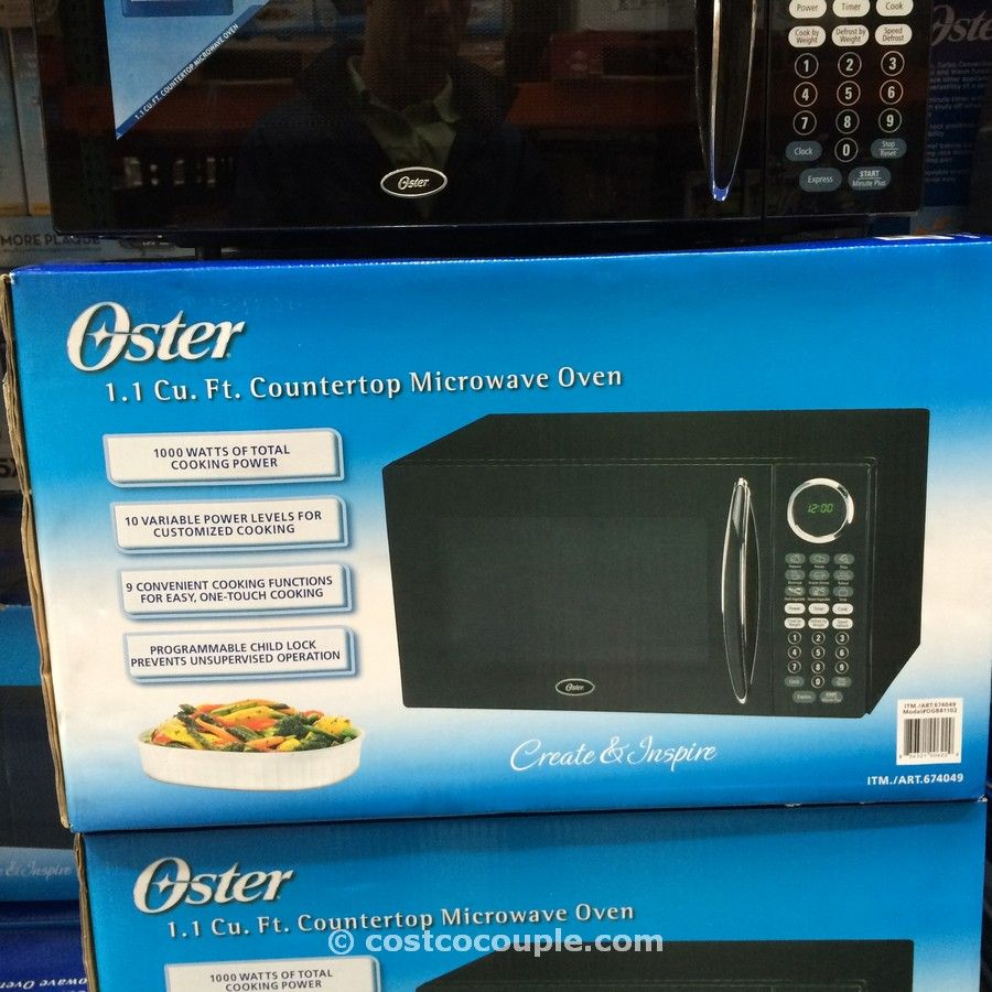 Oster 1.1 Cu Ft Microwave