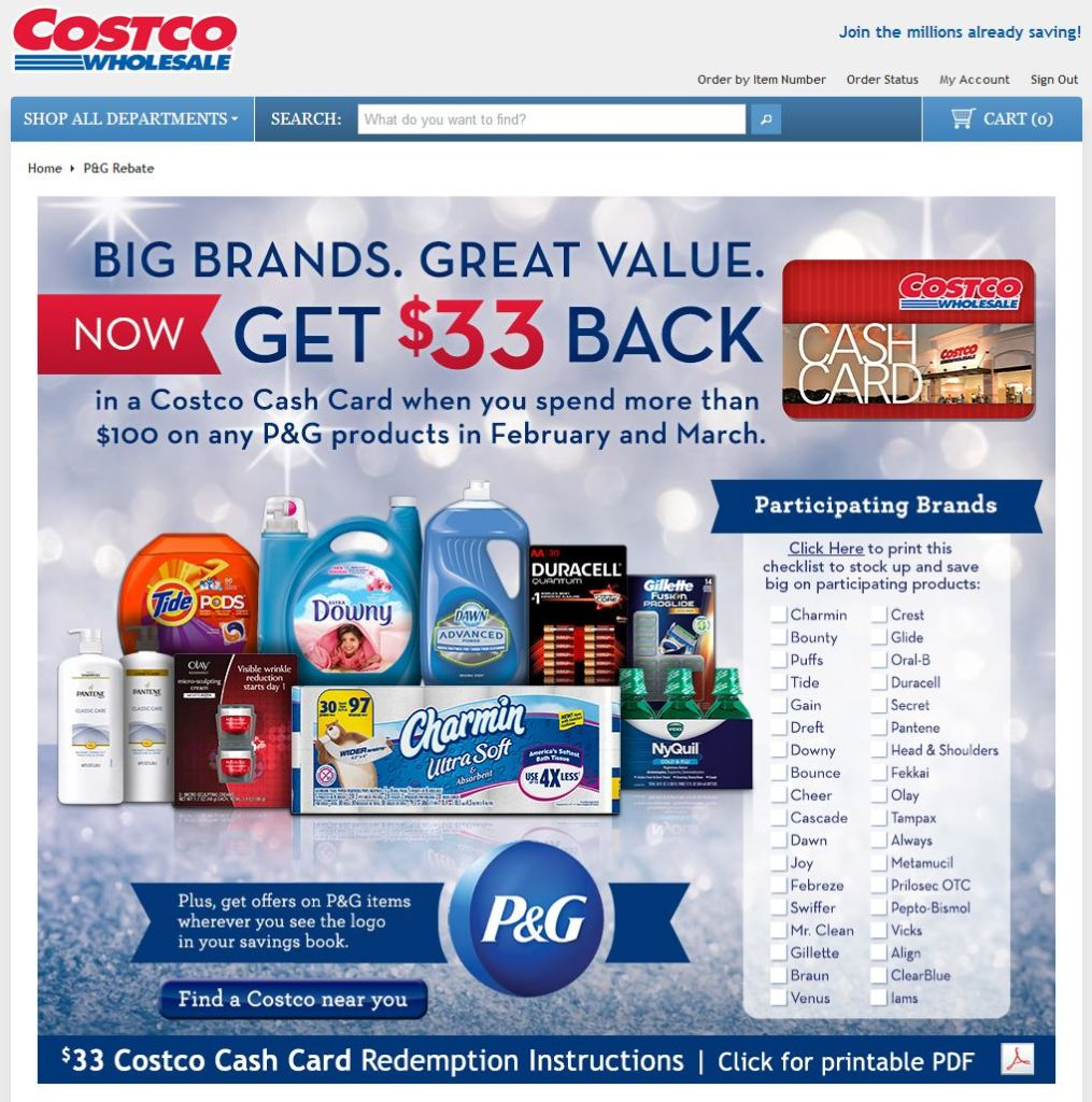 PG Rebate Costco 2
