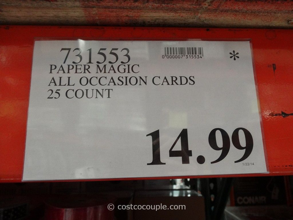 Paper magic 25 all occasion cards paper magic 25 all occasion cards costco 1 kristyandbryce Choice Image